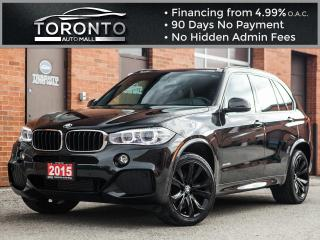 Used 2015 BMW X5 M sport Heads up Navi 360 camera Collision warning for sale in North York, ON