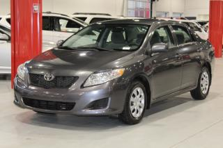 Used 2010 Toyota Corolla CE 4D Sedan for sale in Ste-Catherine, QC