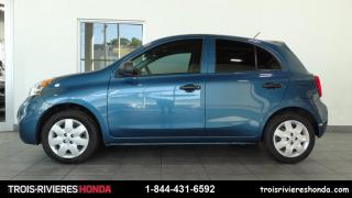 Used 2017 Nissan Micra S for sale in Trois-Rivières, QC