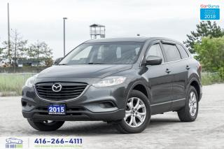 Used 2015 Mazda CX-9 AWD Leather/Sunroof RearCam Clean Carfax Certified for sale in Bolton, ON