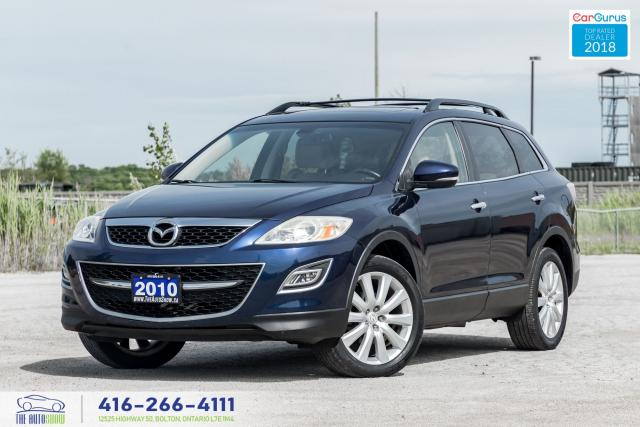 2010 Mazda CX-9 GT AWD NavGpsRCam LeatherSunroof CertifiedServiced