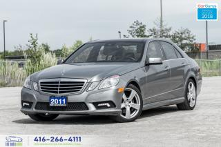 Used 2011 Mercedes-Benz E-Class E 350 4-MATIC PANOROOF NAVI CLEAN CARFAX CERTIFIED for sale in Bolton, ON