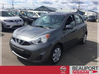 Used 2017 Nissan Micra 1.6 SV AUTOMATIQUE ***32 000 KM*** for sale in Beauport, QC