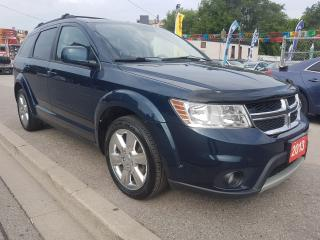 Used 2013 Dodge Journey SXT-7 SEATS- EXTRA CLEAN-BLUETOOTH-SUNROOF- Alloys for sale in Scarborough, ON