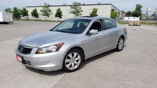 Used 2009 Honda Accord EX-L, Leather, Sunroof, 3/Y warranty ava for sale in Toronto, ON