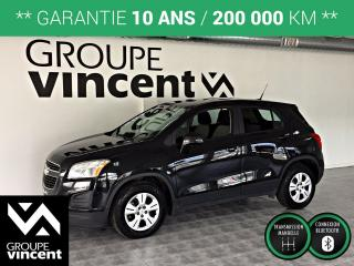 Used 2013 Chevrolet Trax LS ** GARANTIE 10 ANS ** Parfait pour la ville! for sale in Shawinigan, QC