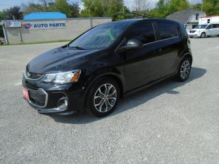 Used 2017 Chevrolet Sonic LT / RS PACKAGE for sale in Beaverton, ON