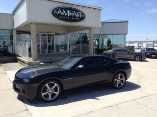 Used 2013 Chevrolet Camaro 2LT / LEATHER / NO PAYMENTS FOR 6 MONTHS !! for sale in Tilbury, ON
