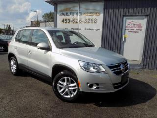 Used 2011 Volkswagen Tiguan ***TRENDLINE,BAS KILO,AUTOMATIQUE,AIR CL for sale in Longueuil, QC