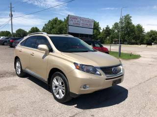Used 2010 Lexus RX 450h for sale in Komoka, ON