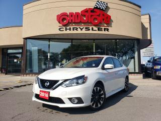 Used 2016 Nissan Sentra SR+SUNROOF+NAV+LEATHER+LOADED for sale in Toronto, ON