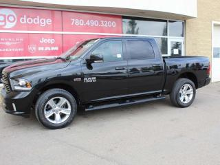 Used 2017 RAM 1500 Sport 4x4 Crew Cab / Back Up Camera for sale in Edmonton, AB