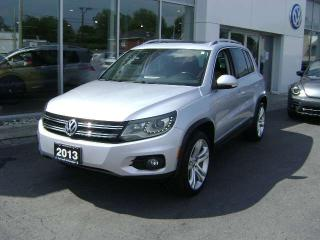 Used 2012 Volkswagen Tiguan Highline Sport 4-MOTION for sale in Cornwall, ON
