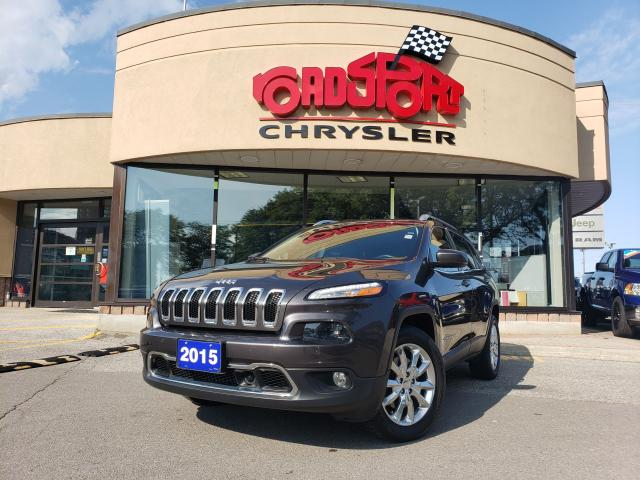 2015 Jeep Cherokee Limited+NAV+SUNROOF+LEATHER+LOADED