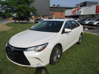 Used 2016 Toyota Camry SE~BACK-UP CAM.~BLUETOOTH~ALLOY WHEELS~CERTIFIED! for sale in Toronto, ON