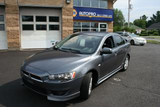 Used 2009 Mitsubishi Lancer SE for sale in Nepean, ON