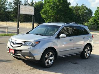 Used 2009 Acura MDX Elite Pkg|ONE OWNER|NO ACCIDENT|LOW MILEAGE for sale in Cambridge, ON