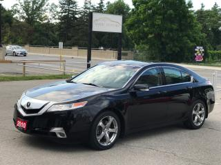 Used 2010 Acura TL ALL WHEEL DRIVE|NO ACCIDENT|LOW MILEAGE for sale in Cambridge, ON