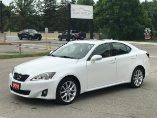 Used 2012 Lexus IS 250 Premium Pkg|Sport Pkg| NO ACCIDENT|ONLY 78000 km for sale in Cambridge, ON
