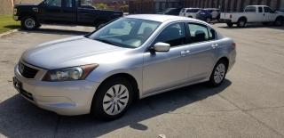 Used 2008 Honda Accord LX for sale in Toronto, ON