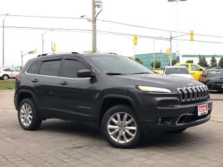 Used 2015 Jeep Cherokee Limited*Active Drive II*nav*Trailer tow grp* for sale in Mississauga, ON