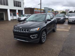 Used 2018 Jeep Compass LIMITED for sale in Edmonton, AB