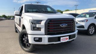 Used 2016 Ford F-150 F150 LARIAT 5.0L V8 LEATHER NAVIGATION for sale in Midland, ON