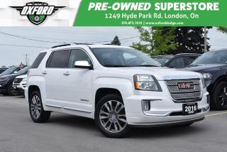 Used 2016 GMC Terrain Denali - One Owner, Well Maintained, Bluetooth, Su for sale in London, ON