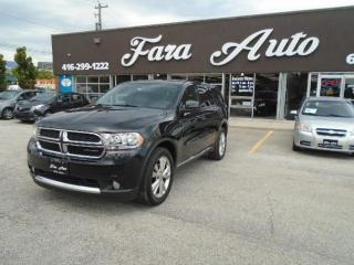 Used 2013 Dodge Durango AWD & SXT & 7 PASSENGERS for sale in Scarborough, ON
