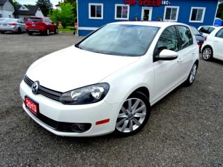 Used 2013 Volkswagen Golf Highline TDI DSG Navigation Sunroof Leather Certified 2013 Volkswagen Golf Highline TDI DSG Navigation Sunroof Leather Certified for sale in Guelph, ON