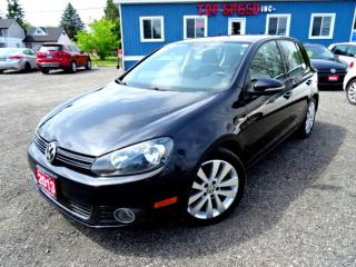 Used 2013 Volkswagen Golf Wolfsburg TDI DSG Sunroof Heated Seat Bluetooth Certified 2013 Volkswagen Golf Wolfsburg TDI DSG Sunroof Heated Seat Bluetooth Certified for sale in Guelph, ON