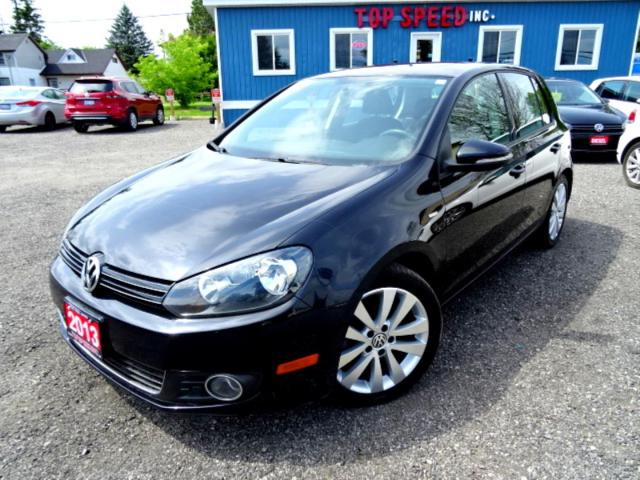 2013 Volkswagen Golf Wolfsburg TDI DSG Sunroof Heated Seat Bluetooth Certified 2013 Volkswagen Golf Wolfsburg TDI DSG Sunroof Heated Seat Bluetooth Certified