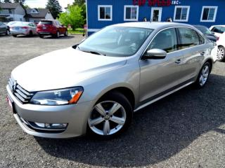 Used 2014 Volkswagen Passat Comfrtline TDI DSG Sunroof Leather Bluetooth Certified 2014 Volkswagen Passat Comfrtline TDI DSG Sunroof Leather Bluetooth Certified for sale in Guelph, ON