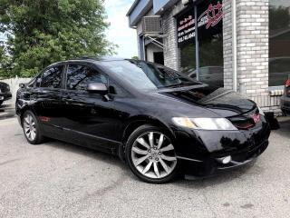 Used 2010 Honda Civic 4 portes, boîte manuelle, Si for sale in Longueuil, QC