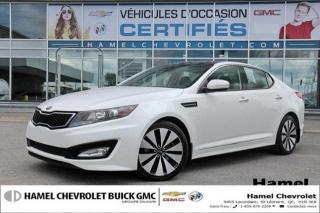 Used 2013 Kia Optima SX for sale in St-Léonard, QC