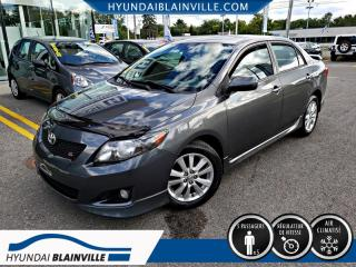 Used 2010 Toyota Corolla S, A/C, GROUPE ELECTRIQUE COMPLET for sale in Blainville, QC