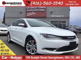 Used 2015 Chrysler 200 Limited | BU CAM | TINTS | ALLOYS | PUSH START for sale in Georgetown, ON