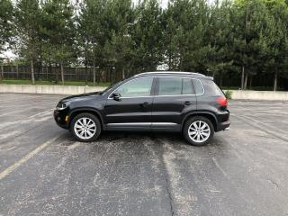 Used 2017 Volkswagen Tiguan COMFORTLINE AWD for sale in Cayuga, ON