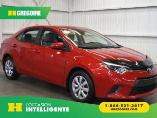 Used 2015 Toyota Corolla Le Camera De Recul for sale in St-Léonard, QC