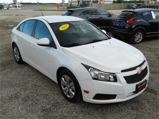 Used 2013 Chevrolet Cruze LT Turbo for sale in Oak Bluff, MB