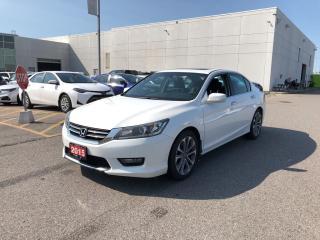 Used 2015 Honda Accord Sport for sale in Brampton, ON