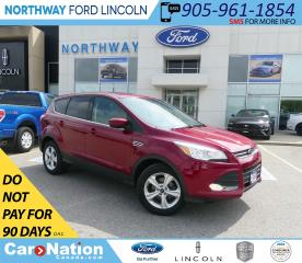 Used 2016 Ford Escape SE | HTD SEATS | BACK UP CAM | KEYLESS ENTRY | for sale in Brantford, ON
