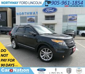 Used 2013 Ford Explorer Limited | AWD | NAV | HTD LEATHER | PANO ROOF | for sale in Brantford, ON
