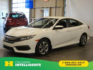 Used 2016 Honda Civic LX CAMÉRA-A/C-GR for sale in St-Léonard, QC