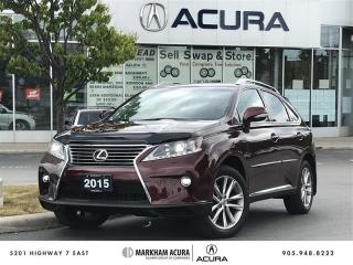 Used 2015 Lexus RX 350 6A SportDesign, Vented Seats, Power Tailgate for sale in Markham, ON