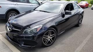 Used 2015 Mercedes-Benz E-Class E400 4MATIC Coupe Premium & Sport Package for sale in Orleans, ON