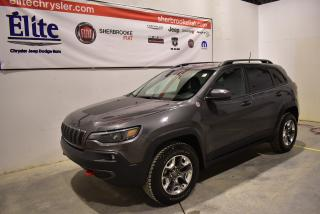 Used 2019 Jeep Cherokee Trailhawk 4X4 for sale in Sherbrooke, QC