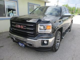 Used 2014 GMC Sierra 1500 LOADED ALL-TERRAIN EDITION 5 PASSENGER 5.3L - V8.. 4X4.. CREW.. SHORTY.. NAVIGATION.. LEATHER.. HEATED SEATS.. BACK-UP CAMERA.. for sale in Bradford, ON
