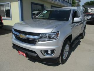 Used 2018 Chevrolet Colorado LIKE NEW LT MODEL 4 PASSENGER 3.6L - V6.. TWO-WHEEL DRIVE.. EXTENDED-CAB.. SHORTY.. AUX/USB INPUT.. BLUETOOTH.. BACK-UP CAMERA.. for sale in Bradford, ON