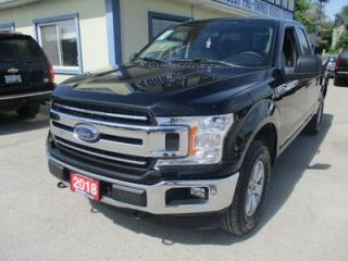 Used 2018 Ford F-150 LIKE NEW XLT EDITION 6 PASSENGER 3.5L - ECO-BOOST.. 4X4.. EXT-CAB.. SHORTY.. TRAILER BRAKE.. BLUETOOTH.. BACK-UP CAMERA.. for sale in Bradford, ON